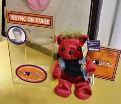 NSYNC 2000 Limited Edition JUSTIN TIMBERLAKE Rare Bear In Box - $31.68