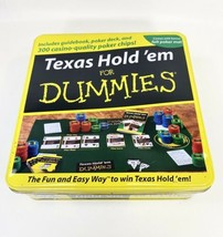 Fundex Texas Hold'em For Dummies in Tin Poker Card Game  - $17.81