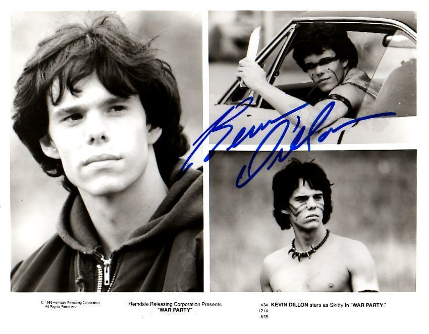 Primary image for Kevin Dillon Signed Autographed Glossy 8x10 Photo