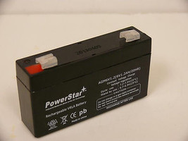 GE Security, 60-914, 6VDC, 1.2AH 24-Hour Rechargeable Backup Battery - $14.16