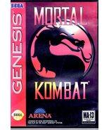 Sega Genesis Mortal Kombat - $11.00