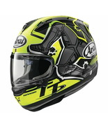 Arai Adult Street Corsair-X Isle Of Man 2019 Helmet Yellow 2XL - $1,059.95