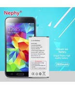 2800mAh Phone Battery For Samsung Galaxy S5  i9600 G900 SM G900F New Acc... - $14.80