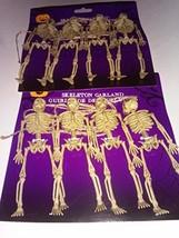 3d Skeleton Garland 5 Ft