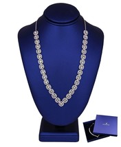 "Swarovski Angelic Square Crystal 17.00"" Adjustable Necklace w/ Box 5368145 - $134.95"