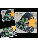 Cookie Jar Lid, Witch Hat Lid, Kitchen Accents, Halloween Decor - $35.99