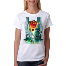 The Fifth Element 5th Element Women's White T-shirt NEW Sizes S-2XL - $15.83+