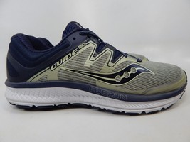 Saucony Guide ISO Size US 9.5 M (D) EU 43 Men's Running Shoes Gray Blue S20415-1