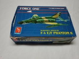 AMT Force One Fighter F-4 E/F Phantom II  #8849 1/144 MODEL KIT Open Box  - $9.49
