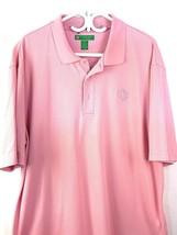 Mens Pink Polo Shirt XXL World Golf Championship - $12.64