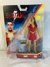 "MATTEL~DC SHAZAM! MOVIE~MARY~POWER SLINGER~6"" ACTION FIGURE~2018 NEW/PAC... - $15.00"