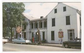 Talbott Tavern Cars Bardstown Kentucky 1961 postcard - $5.94