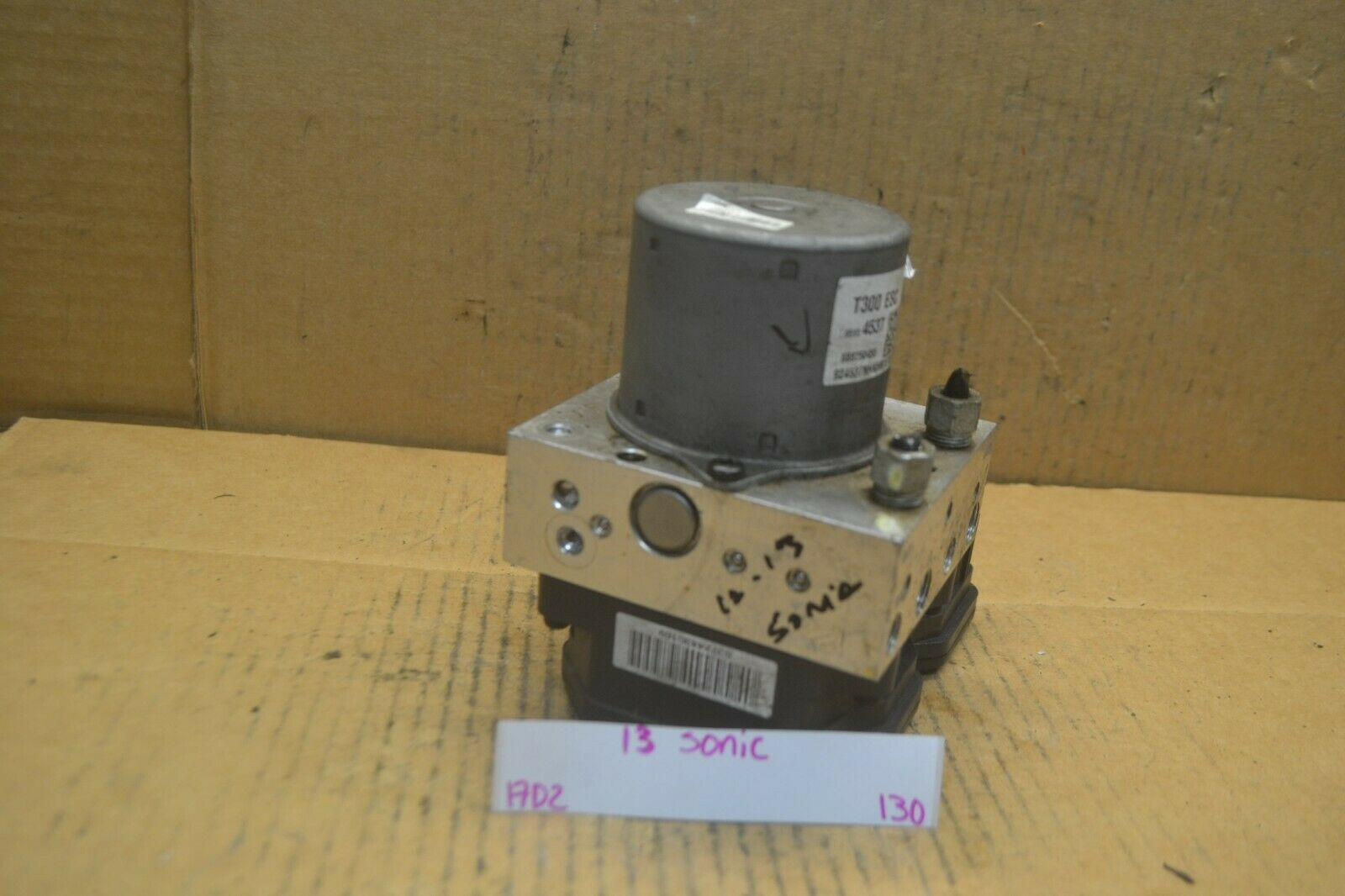 Primary image for 2012 2013 Chevrolet Sonic ABS Pump Control OEM 95104537 Module 130-17d2