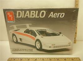 1991 AMT Ertl Lamborghini Diablo Model Kit Aero Spoiler Pirelli 1/25 Sea... - $16.82