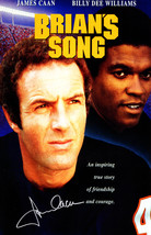 "James Caan Signed ""Brian's Song"" 11x17 Movie Poster - $200.00"