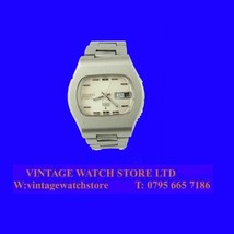 Mint Steel Ladies Retro Seiko Day Date Auto Wrist Watch 1972 - $148.38