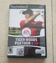 Tiger Woods PGA Tour 08  (PS2), Very Good PlayStation2, Playstation 2 Vi... - $13.85