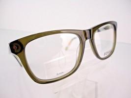 Fossil FOS 6052 (OMBD) Olive Transparent 53 X 17 145 mm Eyeglass Frames - $47.96