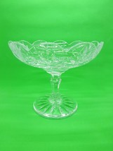 Rare 2002 Waterford Jim O'Leary Signed Crystal Compote Bowl - $219.99