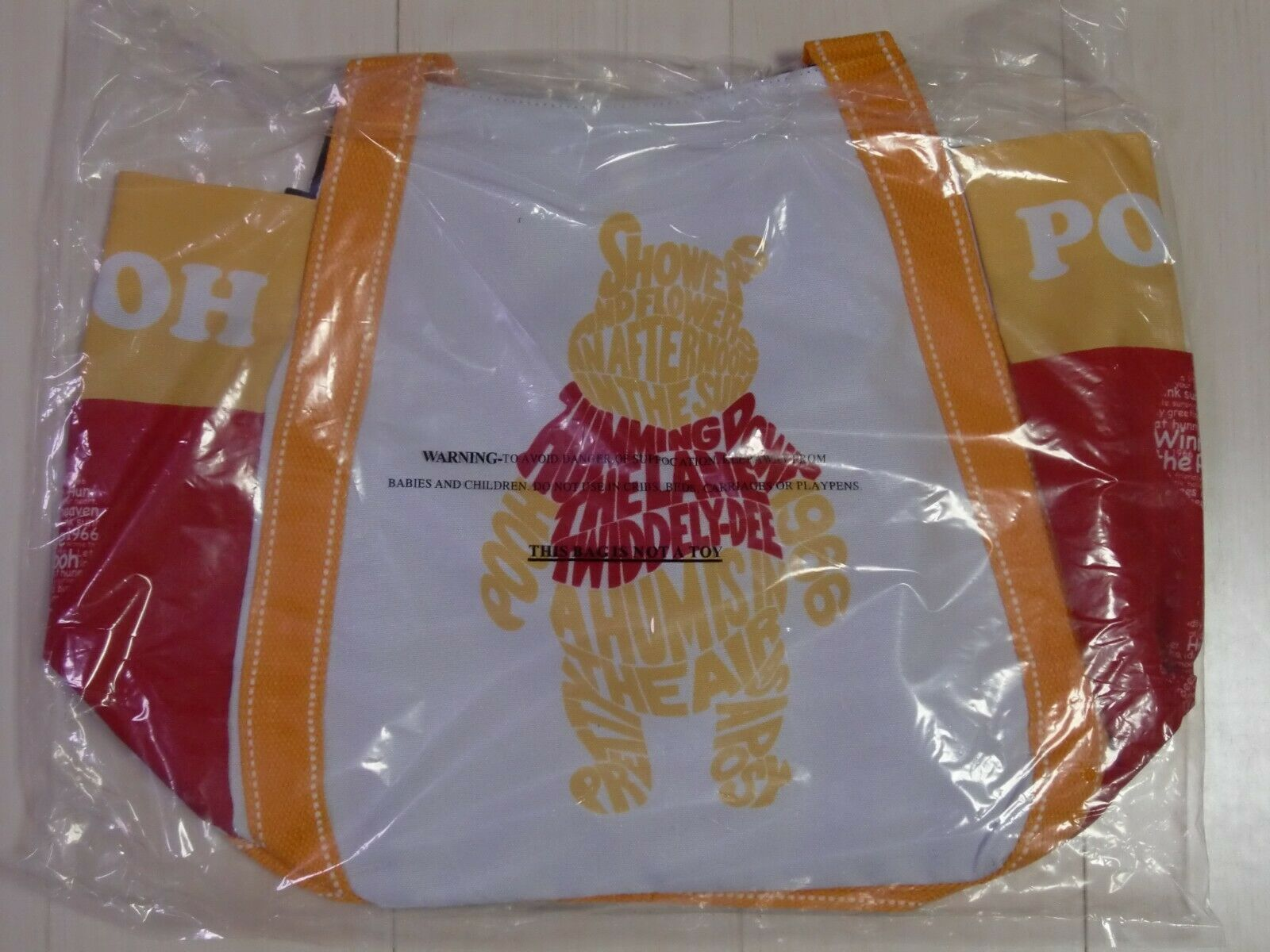 Disney Tote Bag Balloon Winnie the Pooh Magnet A 3 Size DPO-06 Limited Japan image 7