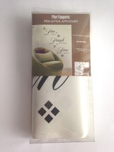 Pier 1 Imports Peel & Stick Applique-Live Well Laugh Often Love Much New... - $203,26 MXN
