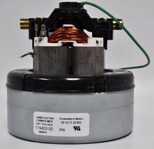 Ametek Lamb 5.7 Inch 2 Stage 240 Volt B/B Thru-Flow Motor 119403-00 - $171.00