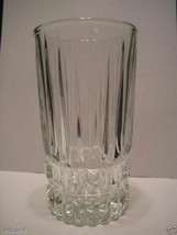 Fostoria Glass ~ set of 8 ~ Crystal Clear HiBall HERITAGE glasses ~new o... - $38.99
