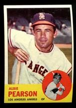 1963 Topps #182 Albie Pearson NRMT Angels *2337* - $4.00