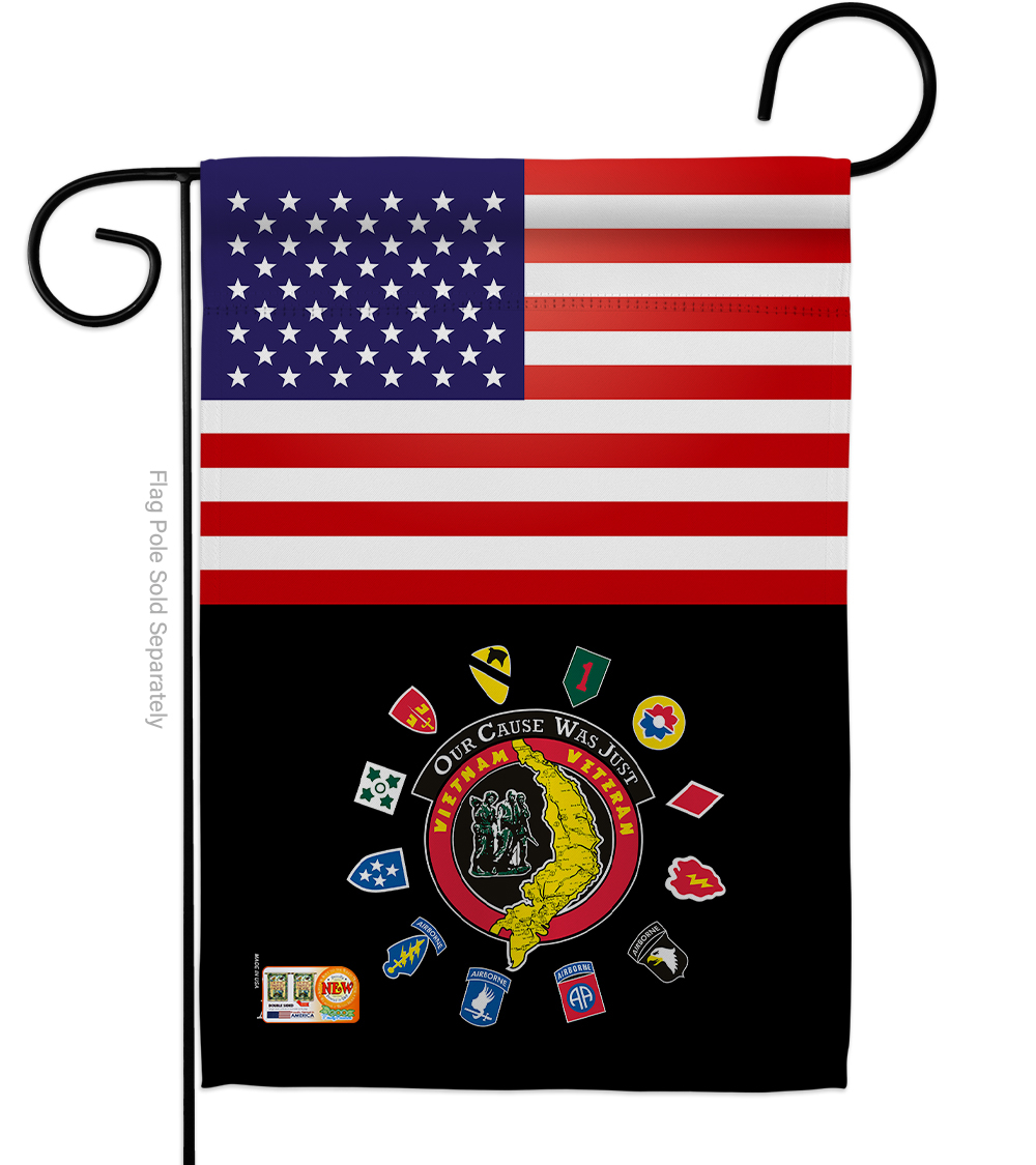 Primary image for US Vietnam Veteran - Impressions Decorative Garden Flag G142622-BO