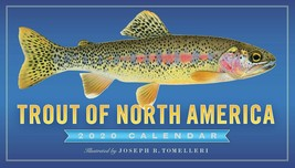 NEW Trout of North America Illustrated Joseph R. Tomelleri 2020 Calendar... - $10.89