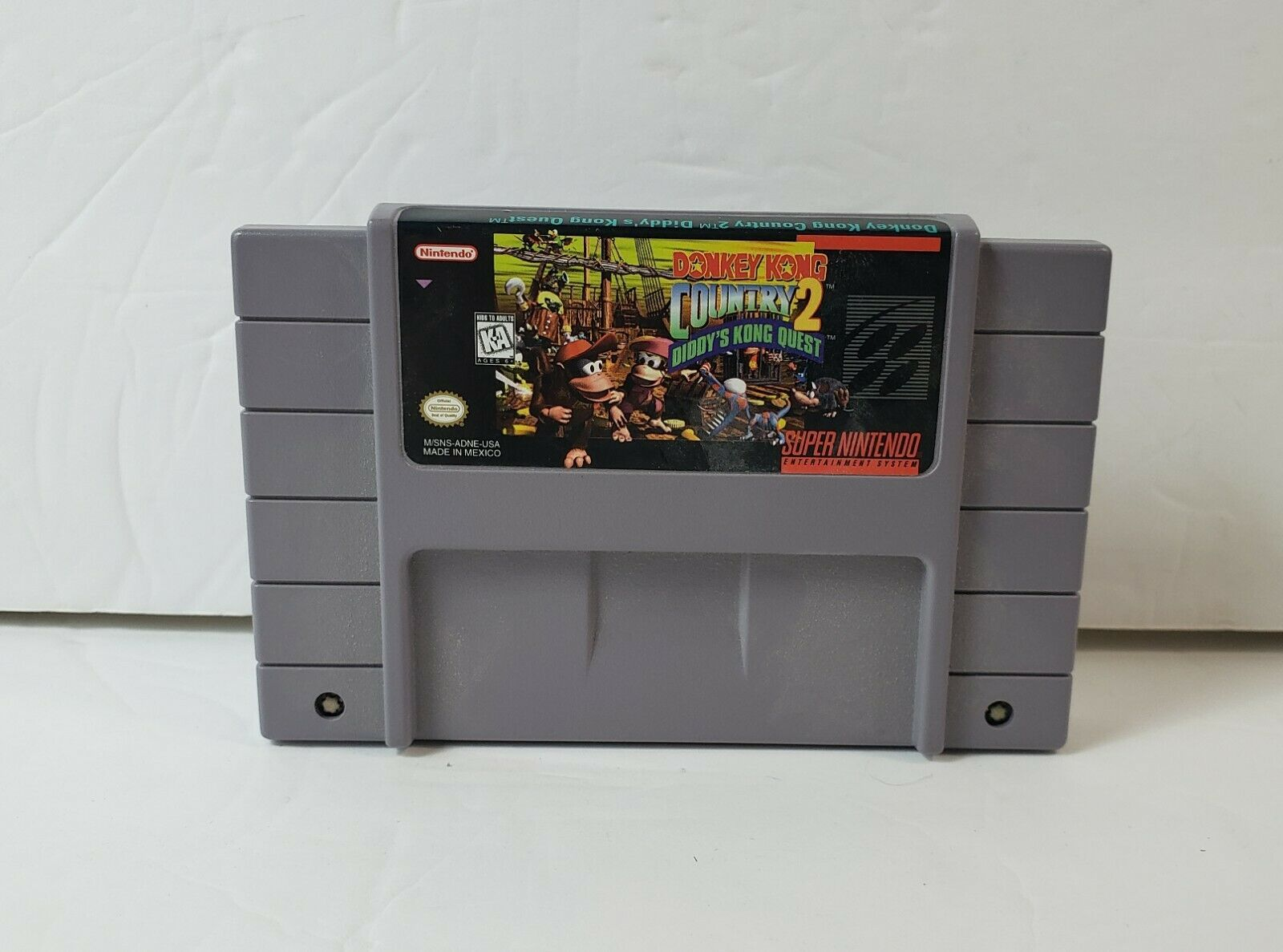 Donkey Kong Country 2: Diddy's Kong Quest (Super Nintendo SNES, 1995) w/ Manual image 2