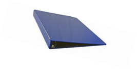 11x17 24 x 18 Inches Acrylic Binder, Angle-D Ring, Blue (917120) - $226.78
