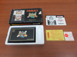 Nintendo GAME&WATCH  Retro game PB-59 PINBALL Game Used Japan G39 - $540.00