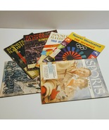 Lot of 6 Sports Illustrated magazines Vintage 1956, 1960, 1972 - $35.00