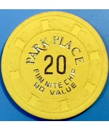 $20 NCV Casino Chip, Park Place, Atlantic City, NJ. W24. - $4.99