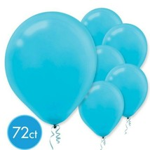 "Caribbean Blue Latex Balloons 12"" 72 Ct - $7.91"