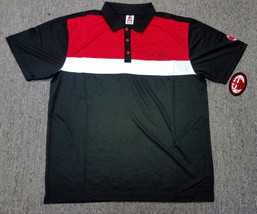 A.C Milan Official Licensed Polo Rhinox Black - $24.99
