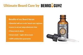Beard Guyz Serum -For a Healthy Beards 1 oz image 3