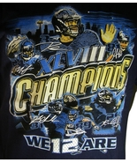 Seattle Seahawks Super Bowl XLVIII 48 Champions Men's We Are 12 Players ... - $9.99