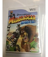 Madagascar Kartz Nintendo Wii 4 Player Racing Party Racers Game NEW SEALED  - $14.80