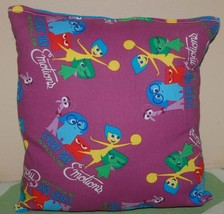 Inside Out Pillow HANDMADE Emotions Pillow Made in USA NEW - $9.99