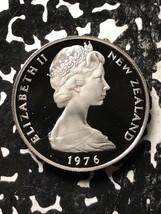 1976 New Zealand 10 Cents Lot#X3378 Proof - $6.80