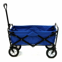 Sports Collapsible Folding Outdoor Utility Wagon, Blue - $15.71+