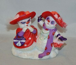 Hamilton Red Hat  Simply Sassy Snowfriends Collection Figurine  - $11.88