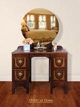 Depression Era Art Deco Style Wood Vanity - $682.11