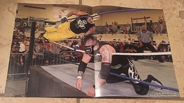 "SCPW Rey Mysterio 619 On SoCal Crazy 11"" X 17"" Action Poster, WWE, WCW, ... - $12.68"