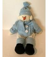 "Snowman Stuffed Cloth Soft Rag Doll 27"" Plush Decoration Holiday Christm... - $49.99"