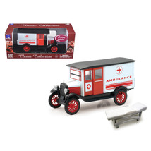 1924 Chevrolet Series H Ambulance 1/32 Diecast Model by New Ray SS-55073A - $27.51