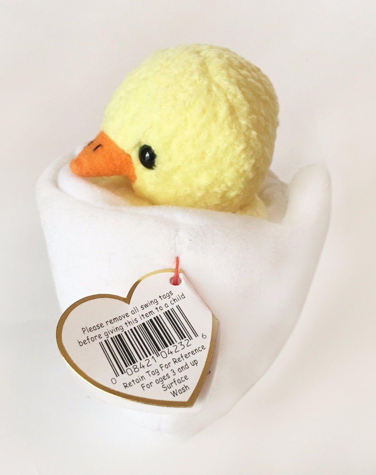 ... TY Beanie Baby Rare Eggbert Chick in Egg with Gasport Hang Tag Error ... 6647562c9989