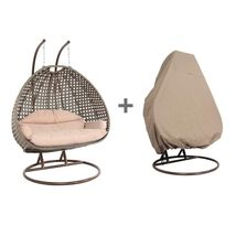 Heavy Duty Hanging Stand Outdoor Wicker Swing Chair Porch Egg Chair Free... - $899.99